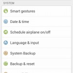 Gionee Elife E7 Backup System Settings