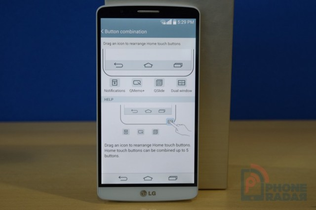 LG G3 Tip Home Touch Button Combination
