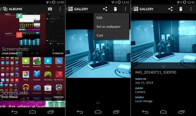 OnePlus One Interface Gallery