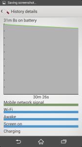 Xperia Z2 battery with 720p 3
