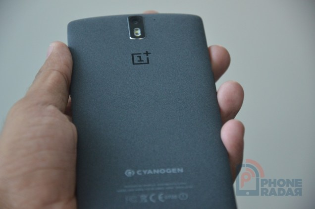 OnePlus One Sandstone Black Back