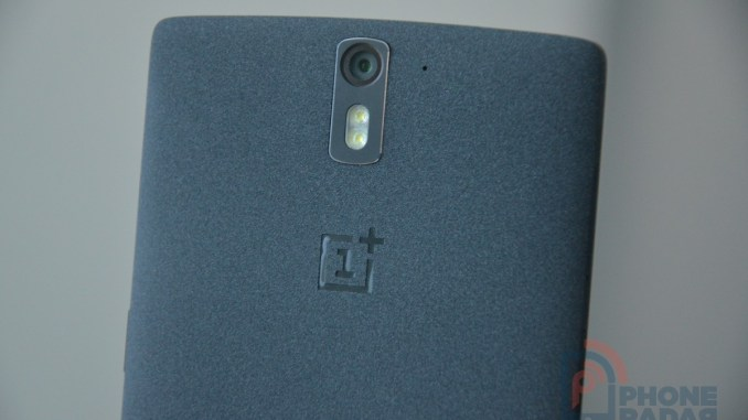 OnePlus One Sandstone Black Camera