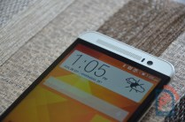 HTC One E8 Front Top