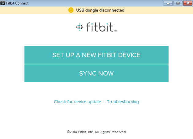 Setup your Fitbit on a Computer