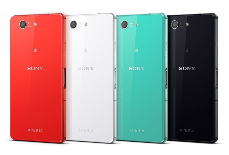 Sony Xperia Z3 Compact Colors