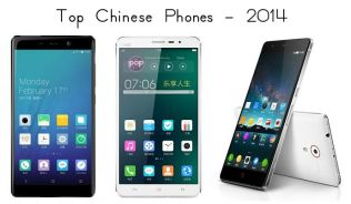 Top Chinese Phones 2014