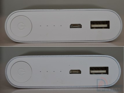 Xiaomi Mi Power Bank Ports
