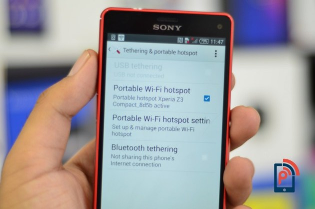 Sony Xperia Z3 Compact - Tethering
