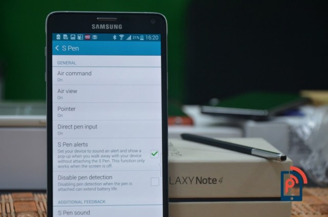 Samsung Galaxy Note 4 - S Pen