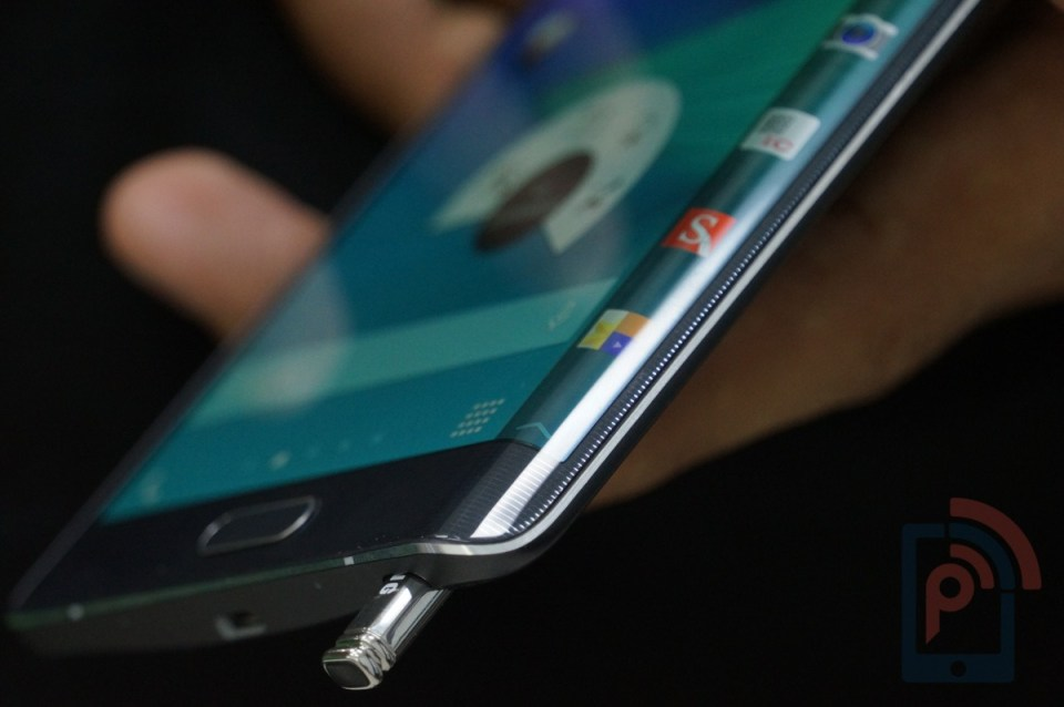 Samsung Galaxy Note Edge Side Display
