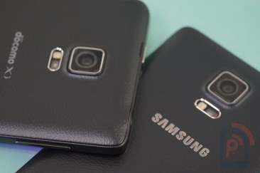 Galaxy Note 4 vs Note Edge Camera