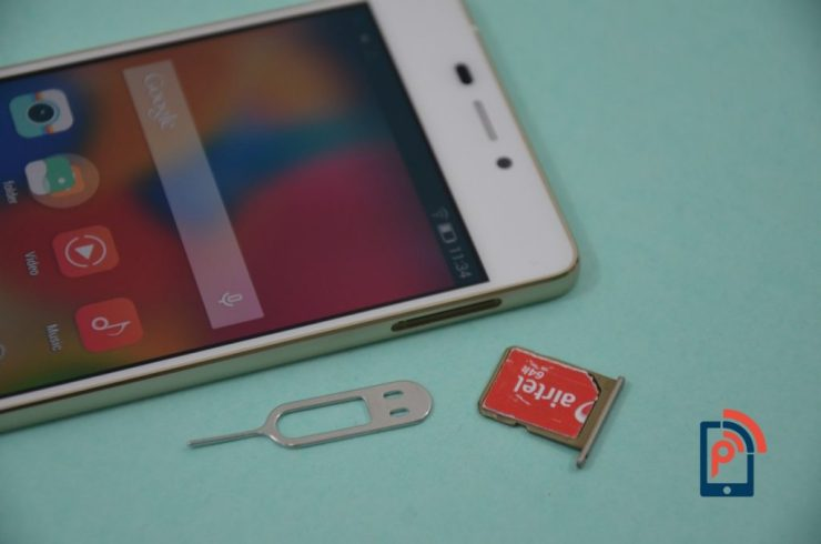 Gionee Elife S5.1 - Insert SIM card