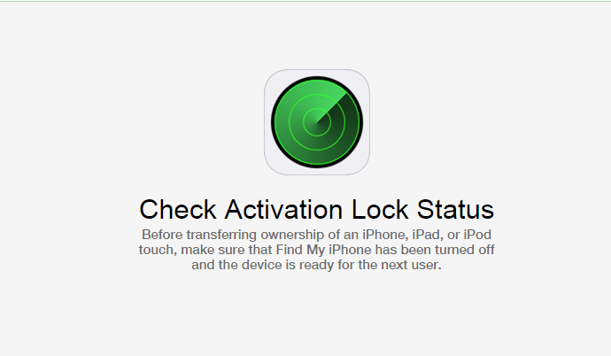 Check Activation Status of iPhone