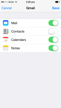 Sync Your Mail, Contacts, Calendars and Notes