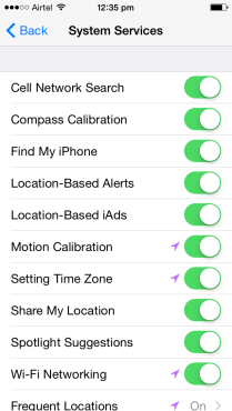 Turn OFF Location Monitoring (3)