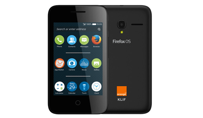 Alcatel OneTouch Orange Klif