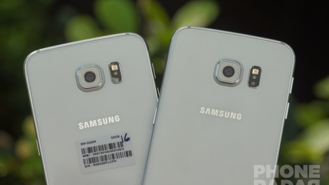 Samsung Galaxy S6 and S6 Edge Camera 1