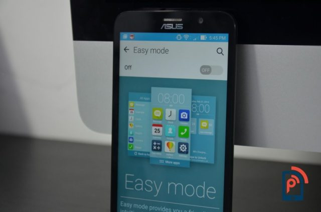 Asus Zenfone 2 - Easy Mode