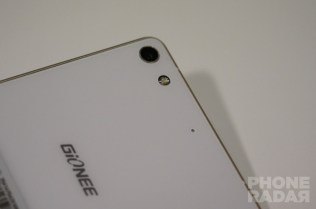 Gionee Elife S7 Hands-on Back Camera