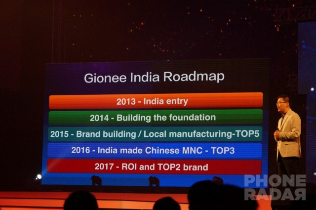 Gionee Elife S7 Launch 3
