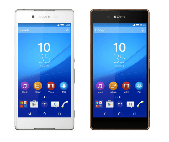Sony Xperia Z4 Colors
