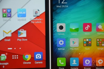 Xiaomi Mi 4i vs Asus ZenFone 2 Display