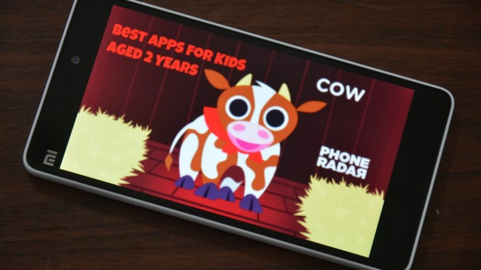 Best Android Apps for 2 Year Olds