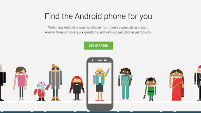 Android Phone Selector