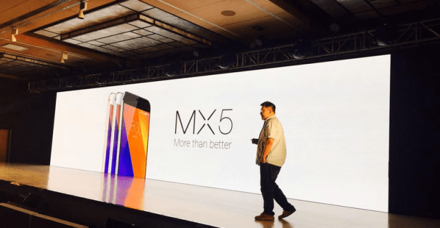 Meizu MX5 India Launch