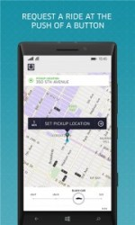 Uber Windows Phone App