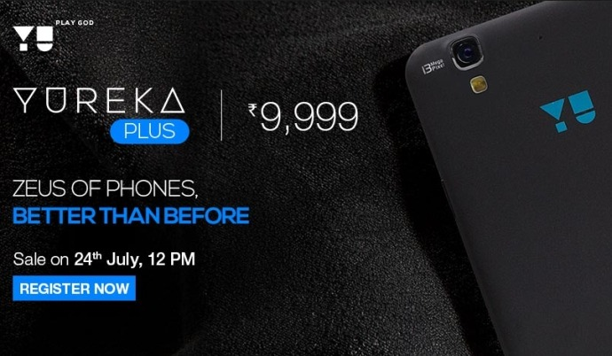 YU Yureka Plus Launched