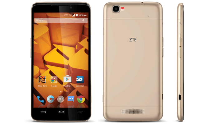 ZTE Boost Max Plus Launched