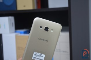 Samsung Galaxy A8 - Rear Camera