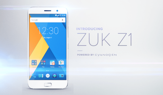 ZUK Z1 International Launch