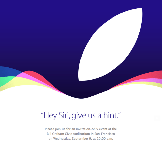 Apple Event - Sept 9