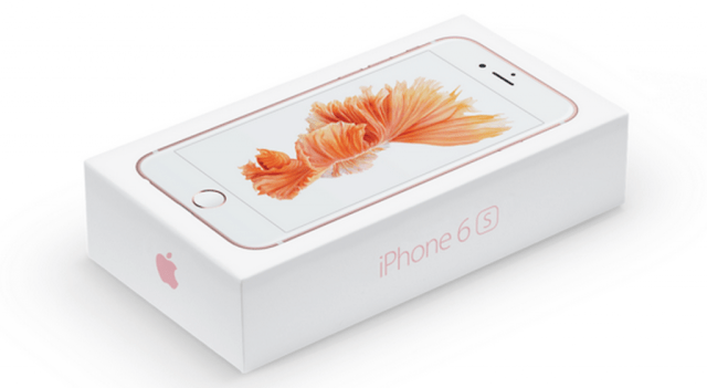Apple iPhone 6s Package