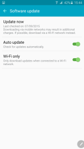 Samsung Galaxy Note 5 Firmware Update 3
