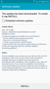 Samsung Galaxy Note 5 Firmware Update 7
