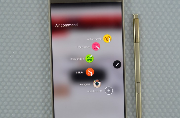 Samsung Galaxy Note 5 Scroll capture