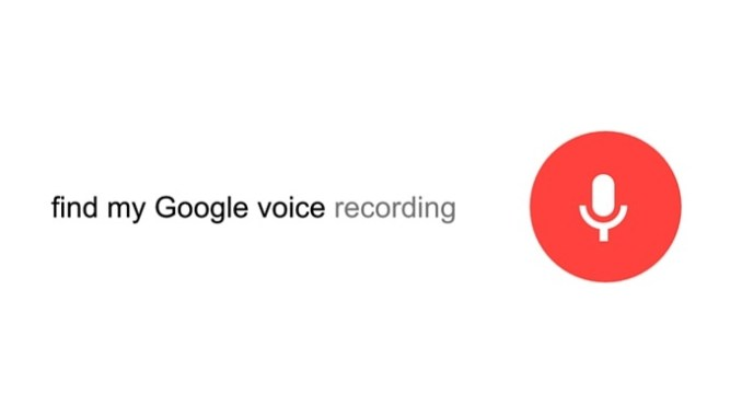 Find my Google Voice Recording