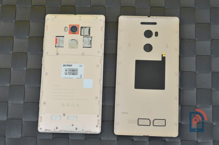 Gionee Elife E8 - Battery