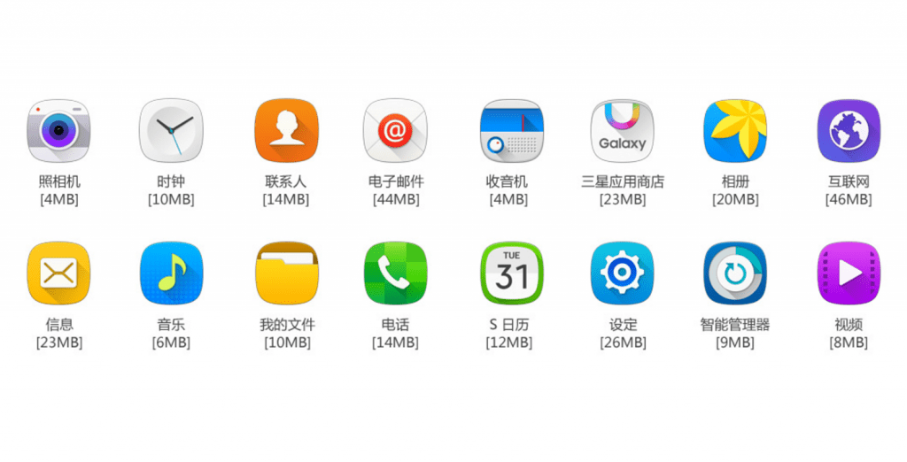 Pre-Installed Apps Galaxy On