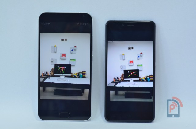 OnePlus X Vs Meizu MX5 - Display