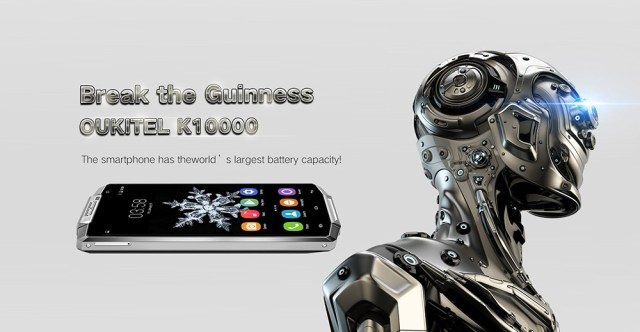 Oukitel K10000 - 15 Days battery Life
