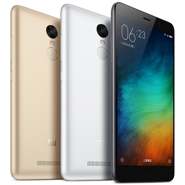 Xiaomi Redmi Note 3 Pro - Three colors