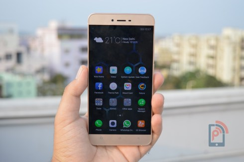 Gionee S6 - Front Side