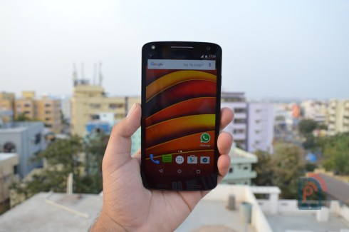 Moto X Force - Front Side