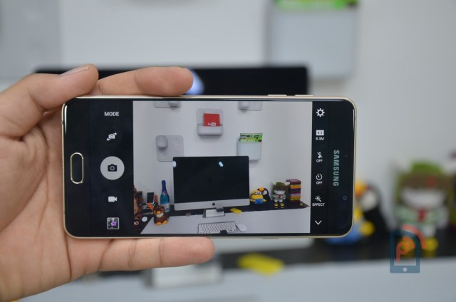 Samsung Galaxy A7 2016 Edition - Camera Interface