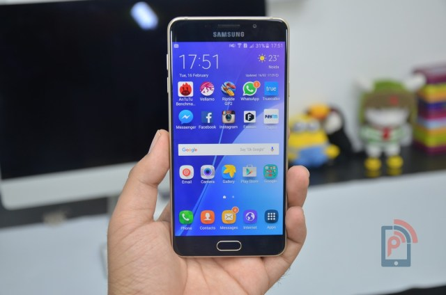 Samsung Galaxy A7 2016 Edition - Display