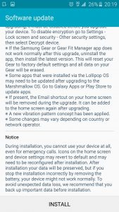 Samsung Galaxy S6 Marshmallow Changelog